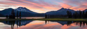 Sparks Lake Bend, Oregon