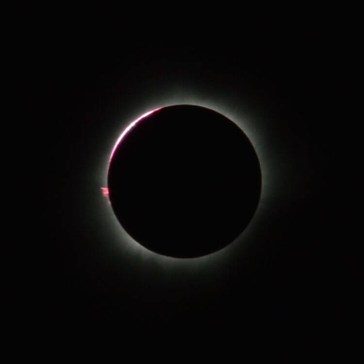 Total Solar Eclipse Bend, Oregon